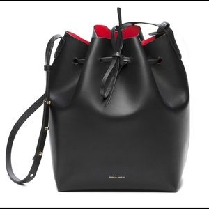 Mansur Gavriel Large Bucket Bag - Black (Flamma)